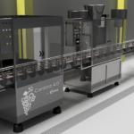 INDUSTRIA 4.0 - Vino - Cantina 4.0 - IMBOTTIGLIAMENTO - LINEA 3D