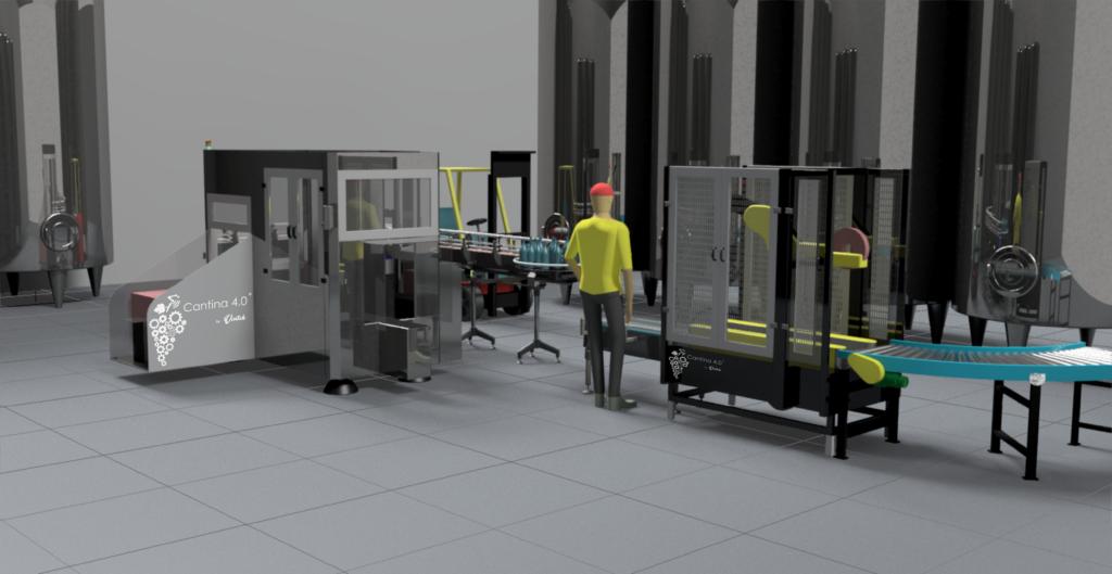 Industria 4.0 - Vino - Imbottigliamento - Confezionamento - Packaging Beverage